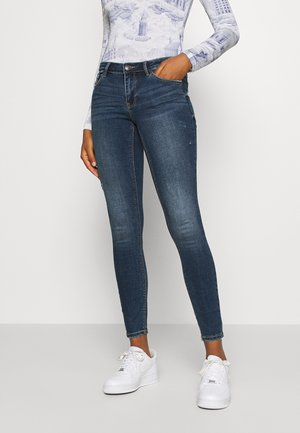 VMLYDIA - Jeans Skinny Fit - medium blue denim