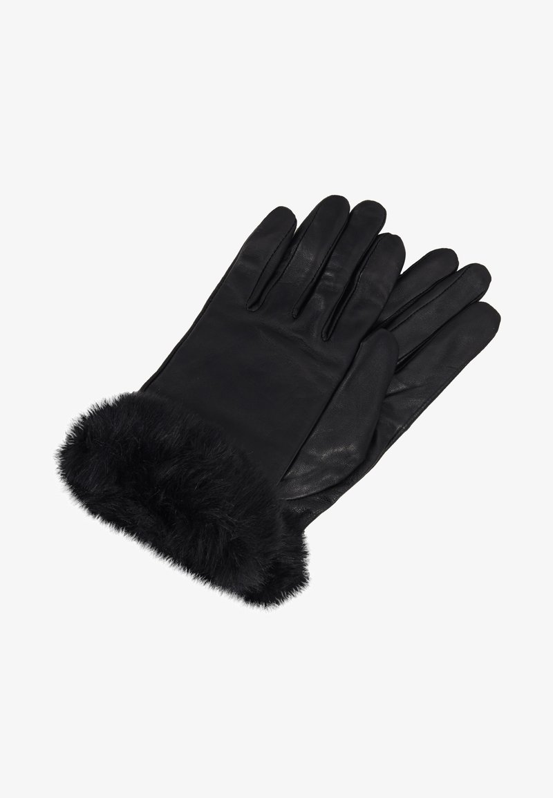 Dorothy Perkins - TRIM GLOVE - Gants - black