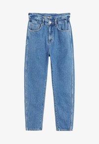 Mango - SLOUCHY - Straight leg jeans - blue - 3