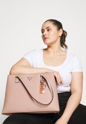 BECCA LUXURY SATCHEL - Tote bag - blush