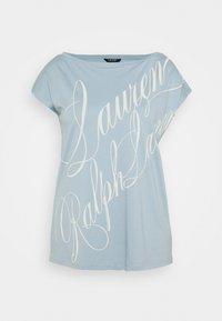 Lauren Ralph Lauren Woman - GRIETA  - Print T-shirt - dust blue - 0