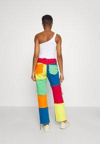 Jaded London - PATCHWORK BOYFRIEND WITH FRAYED SEAMS - Jeans straight leg - multi - 2