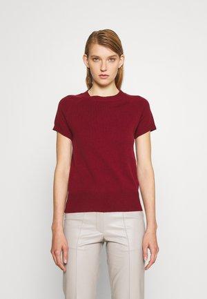 CAP SLEEVE - T-shirt basic - wine