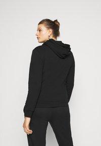 Even&Odd Curvy - Zip-up hoodie - black - 2