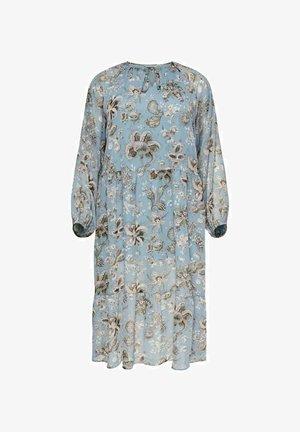 Day dress - blue mirage