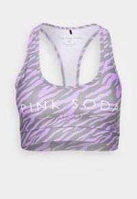 Pink Soda - ZEBRA BRA - Medium support sports bra - lilac - 5