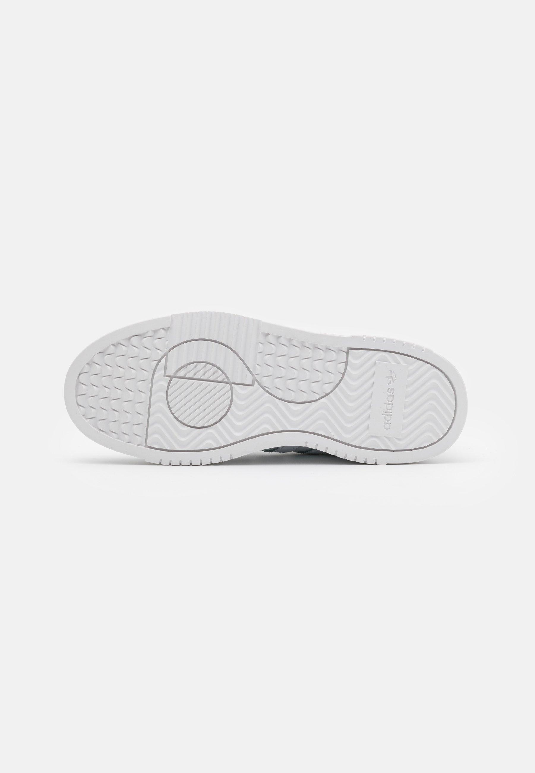 100% authentique Meilleurs prix adidas Originals SUPER COURT SPORTS INSPIRED SHOES Baskets basses footwear white/super coler OZi1e