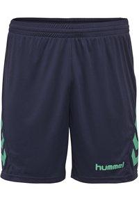 Hummel - DUO SET - Sports shorts - atlantis/marine - 3