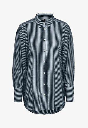 LANGÄRMELIG - Button-down blouse - navy blazer