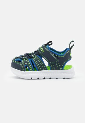 C-FLEX 2.0 - Walking sandals - navy/royal/lime
