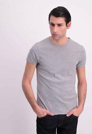T-shirt basic - grey melee