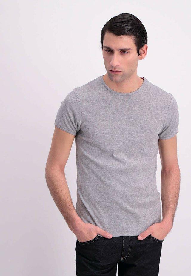 Basic T-shirt - grey melee