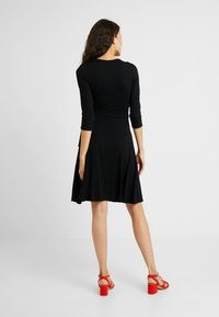 Dorothy Perkins Tall - WRAP DRESS - Jersey dress - black - 2