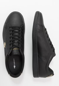 Lacoste - CARNABY EVO - Baskets basses - black - 1