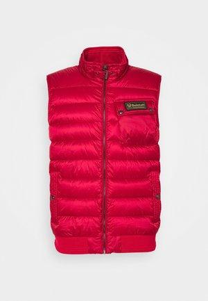 STREAMLINE VEST - Waistcoat - red
