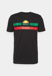 Ellesse - GLISENTA TEE - Print T-shirt - black - 3