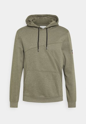 Sweatshirt - mottled olive