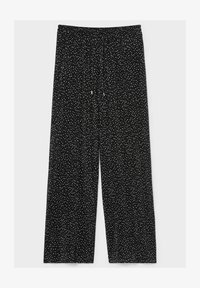C&A - Trousers - black / white - 3