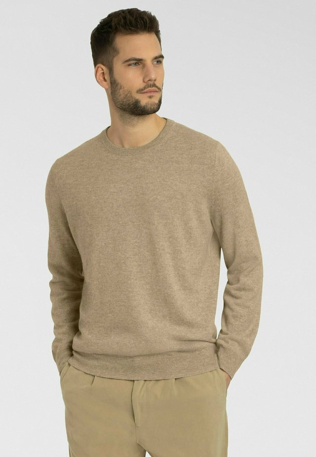 Pullover - taupe