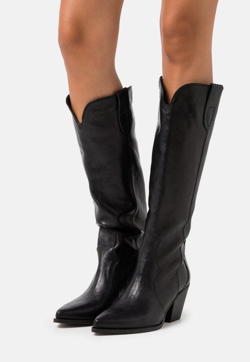 Bianca Di - Cowboy/Biker boots - nero