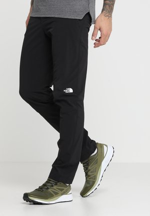 MEN'S SPEEDLIGHT PANT - Długie spodnie trekkingowe - black