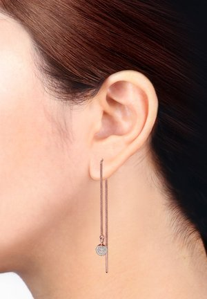 GLASS CRYSTAL - Earrings - rosegold-coloured