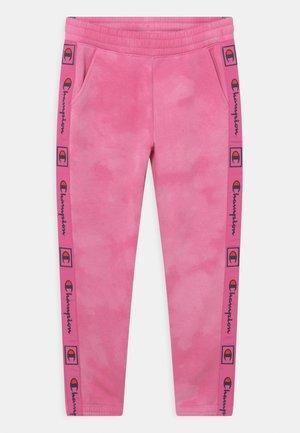 C-TONE ELASTIC CUFF PANTS UNISEX - Pantalon de survêtement - pink