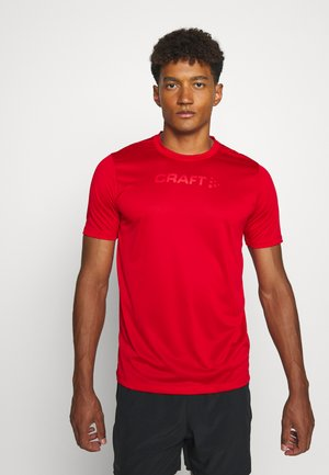 CORE ESSENCE TEE  - Print T-shirt - red