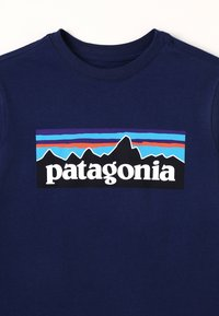 Patagonia - GRAPHIC ORGANIC - Long sleeved top - classic navy - 4