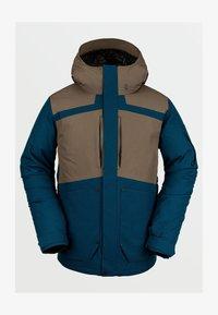 Volcom - SCORTCH INS JACKET - Snowboard jacket - blue - 0