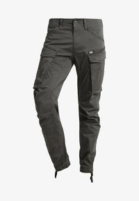 G-Star - ROVIC ZIP 3D STRAIGHT TAPERED - Cargobukser - grey - 5