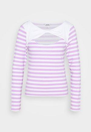 ELLIE - Long sleeved top - lilac