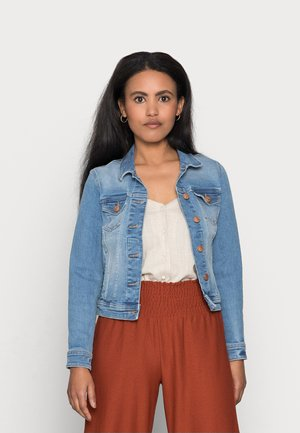ONLTIA LIFE JACKET - Jeansjacka - light blue denim