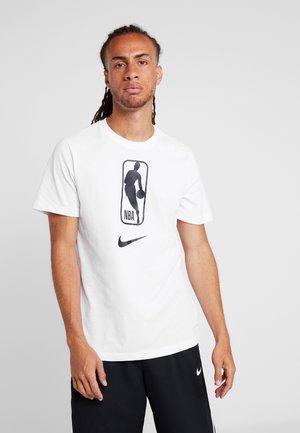 NBA DRY TEE - T-shirts print - white