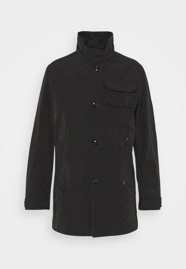 UTILITY HB TAPE TRENCH - Trenchcoat - black