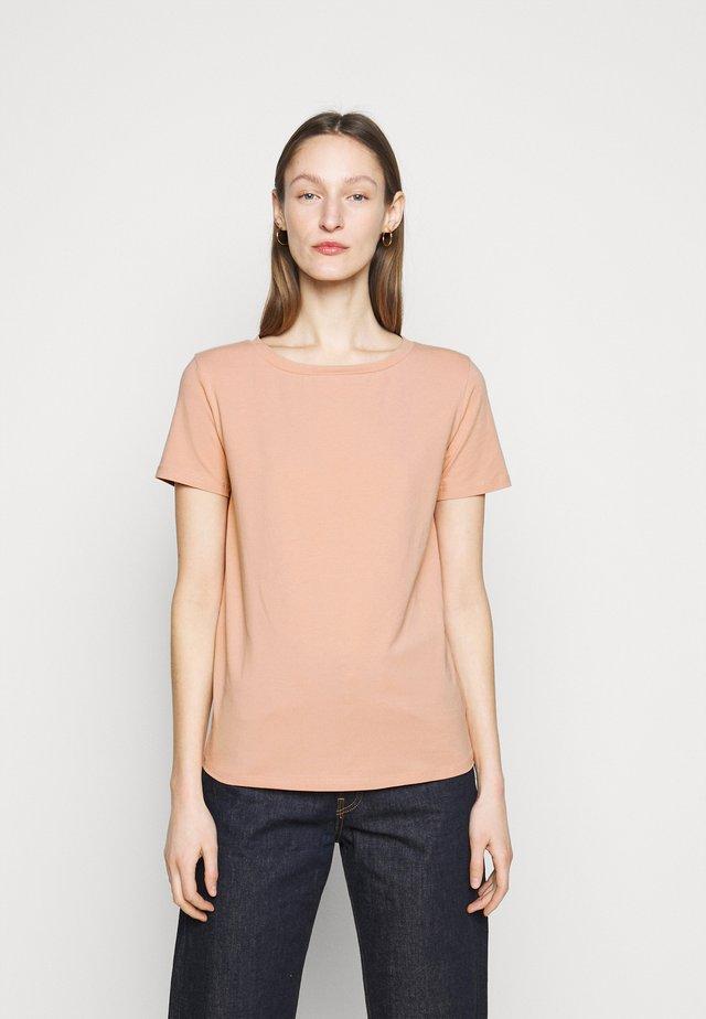 T-shirt basic - altrosa
