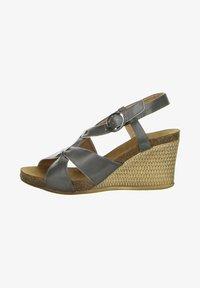 Inblu - Wedge sandals - anthrazit - 0
