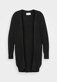 SLFLULU LONG CARDIGAN  - Cardigan - black