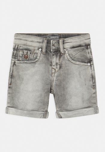 ANDERS  - Shorts di jeans - grey ice wash
