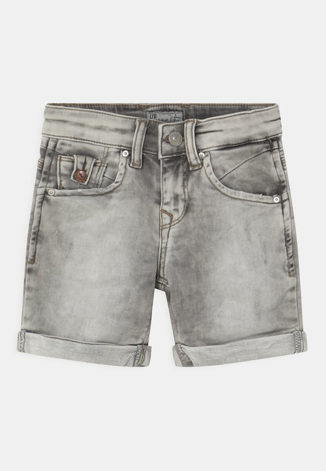 ANDERS  - Jeansshort - grey ice wash