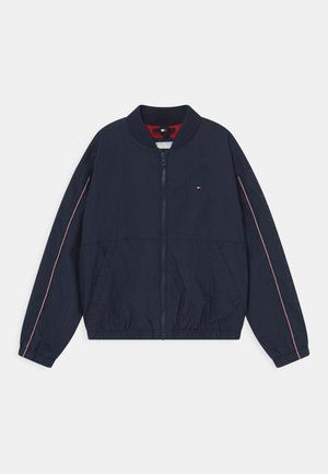 ESSENTIAL LOGO - Bomber bunda - twilight navy