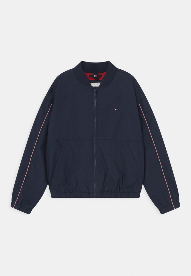 ESSENTIAL LOGO - Bomber Jacket - twilight navy
