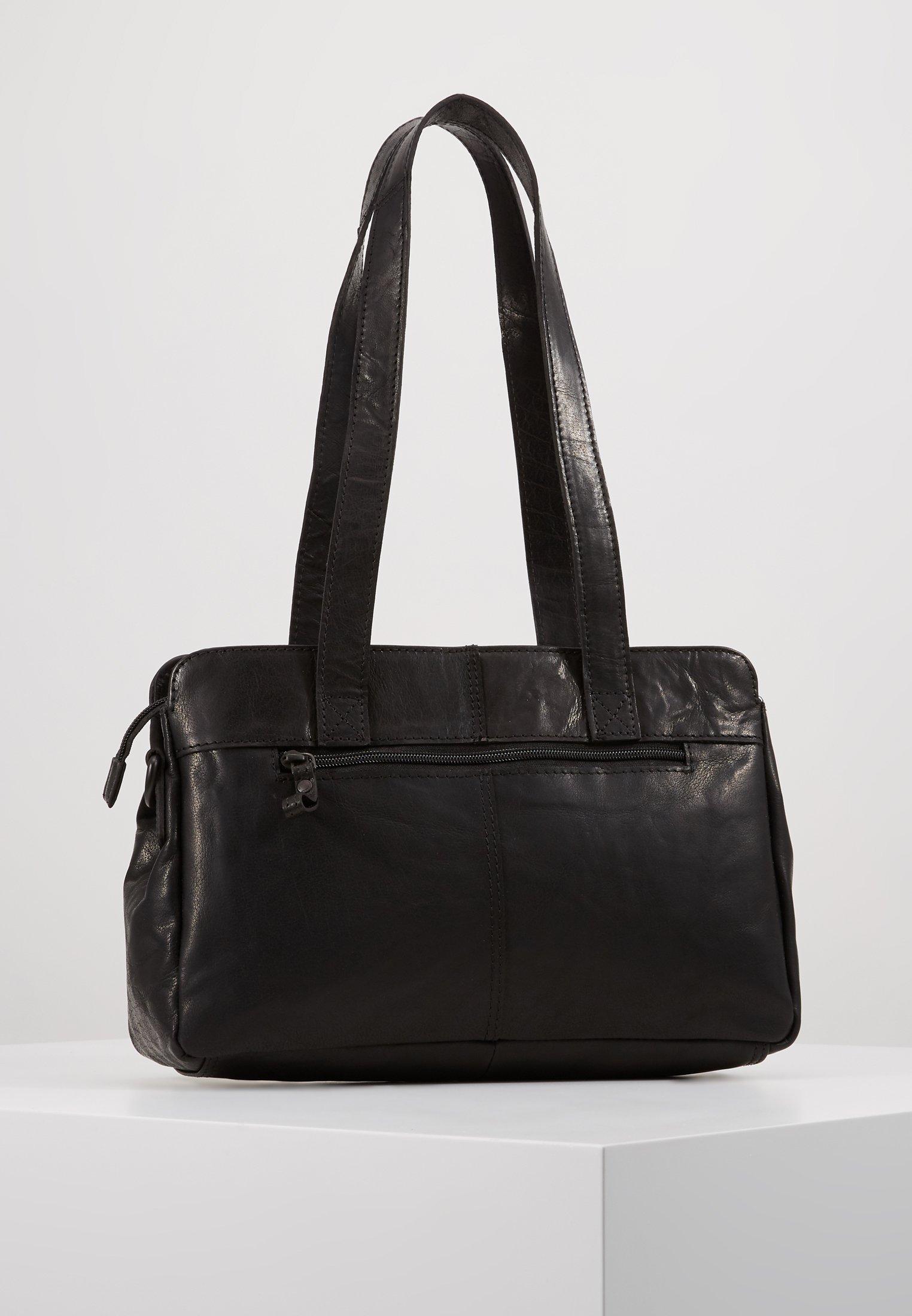 Spikes & Sparrow Handtasche - Black/schwarz