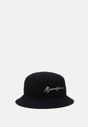 SIGNATURE BUCKET HAT - Klobouk - black