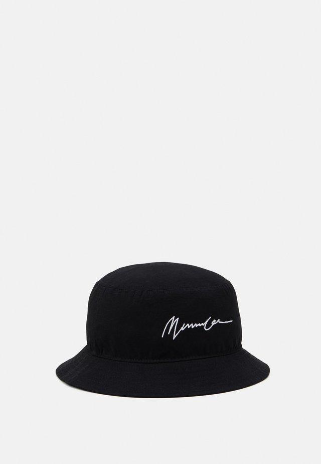 SIGNATURE BUCKET HAT - Hoed - black