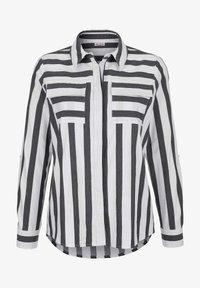 Alba Moda - Button-down blouse - schwarz weiß - 5