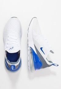 Nike Sportswear - AIR MAX 270 - Sneakers basse - white/hyper royal/pure platinum - 0