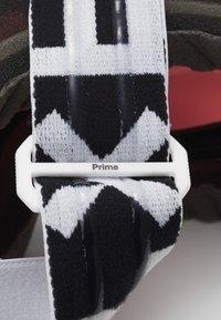 Flaxta - PRIME UNISEX - Ski goggles - white - 2