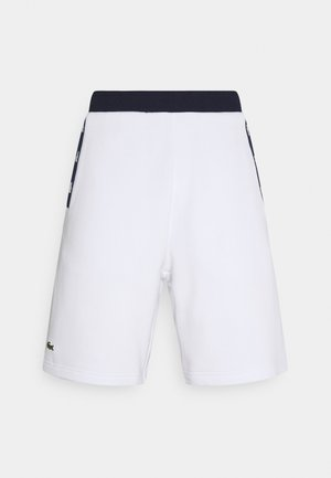 SHORT - Korte broeken - white/navy blue