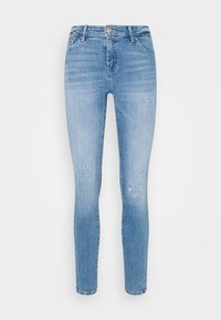 ONLY - ONLCARMEN LIFE REG - Skinny džíny - light medium blue - 4
